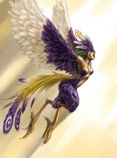 Seres Mitologicos Parte 2 (Voladores)