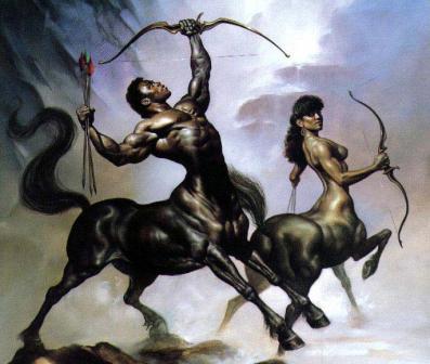criaturas mitologicas painting